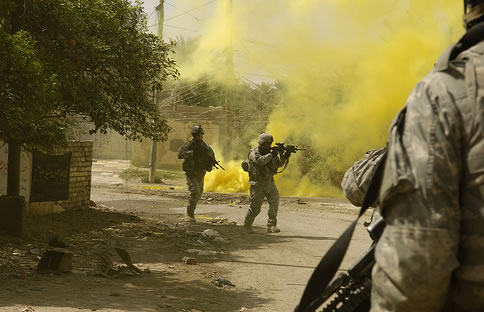 Iraq Firefight